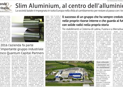 Il Sole 24 Ore - Slim Aluminium